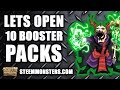 Lets open up some Cryptocurrency Blockchain Steem Monsters Booster Packs
