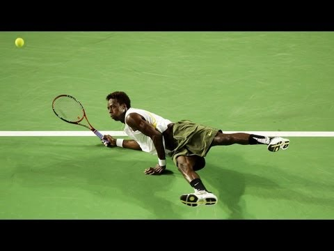 Gael Monfils: Tennis Trick Shot Master [Supercut Compilation]
