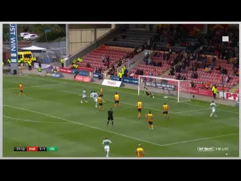 Moussa Dembèlè Goal Celtic 2-1 Partick Thistle (18/08/18)