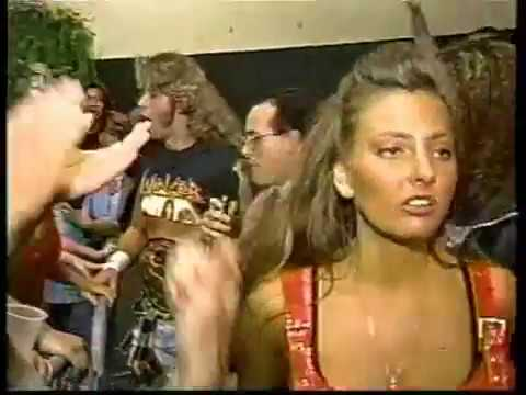 ECW Beulah vs Francine CatFight 1995