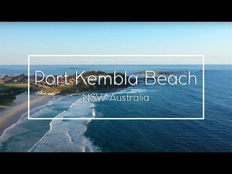 Port Kembla Beach and Surrounds