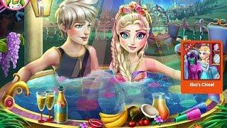 Эльза Frozen Игры—Эльза вечеринка джакузи—Онлайн Видео Игры Для Детей Мультфильм 2015