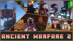 """Minecraft: """"Prepare for Battle!"""" Ancient Warfare 2  1.12.2 Mod Showcase"""