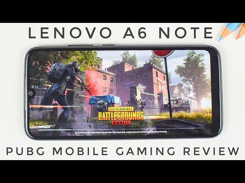 Lenovo A6 Note PUBG Mobile, Fortnite Gaming Review | Benchmarks, Heating And Performance Review 🎮