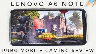 lenovo A6 Note PUBG Mobile, Fortnite Gaming Review  Benchmarks, Heating and Performance Review