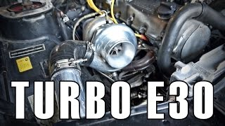 In The Garage | Bmw E30 Turbo Project