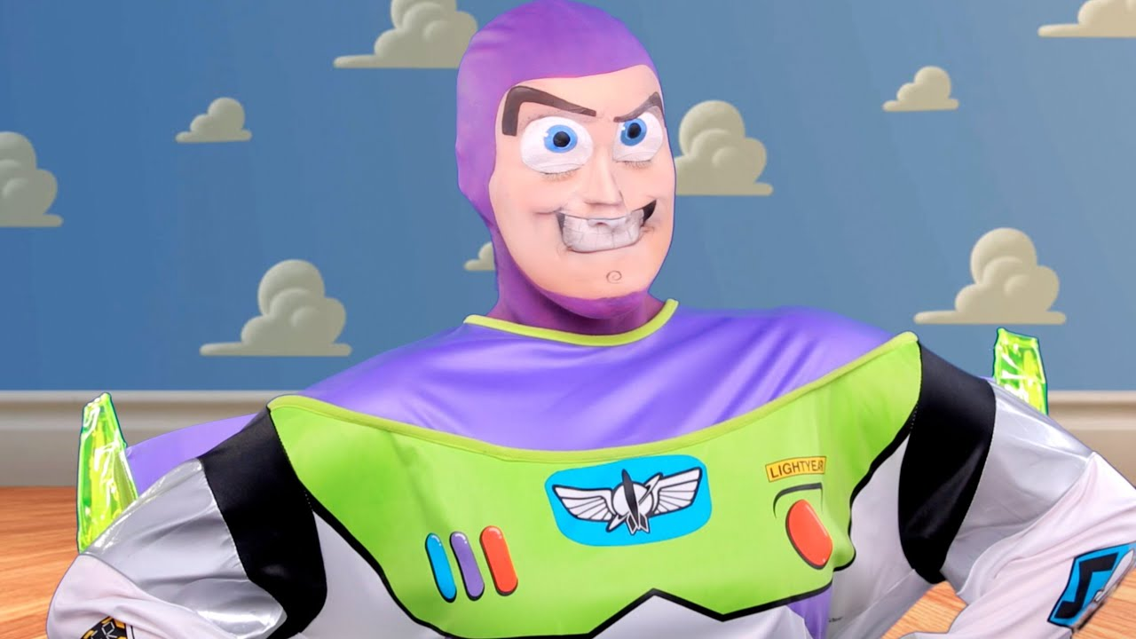 Disneyu0027s Buzz Lightyear Tutorial  CHRISSPY   YouTube