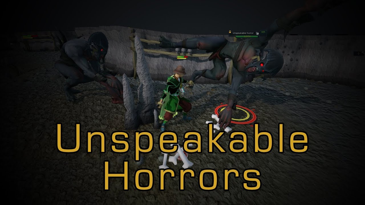 Unspeakable Horrors | Weekly RuneScape Byte - YouTube