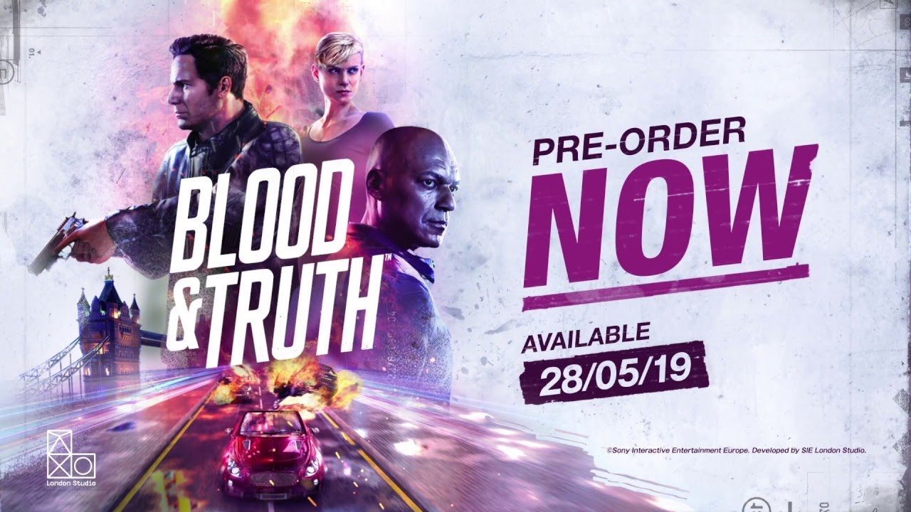 PS VR《Blood & Truth》宣傳影像