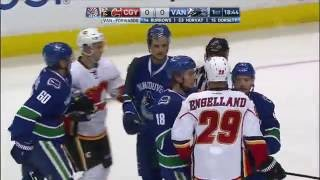 Oct.15/2016   Calgary Flames  Vancouver Canucks
