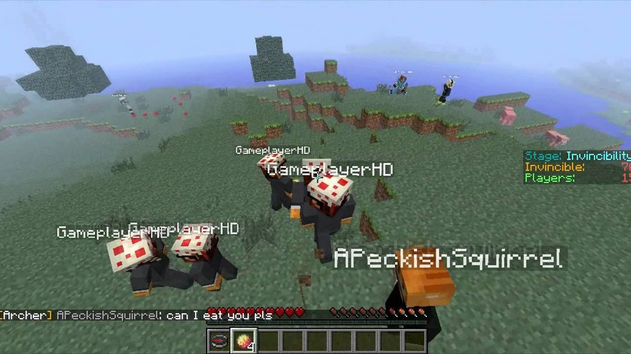 how to join hunger games on minecraft pc