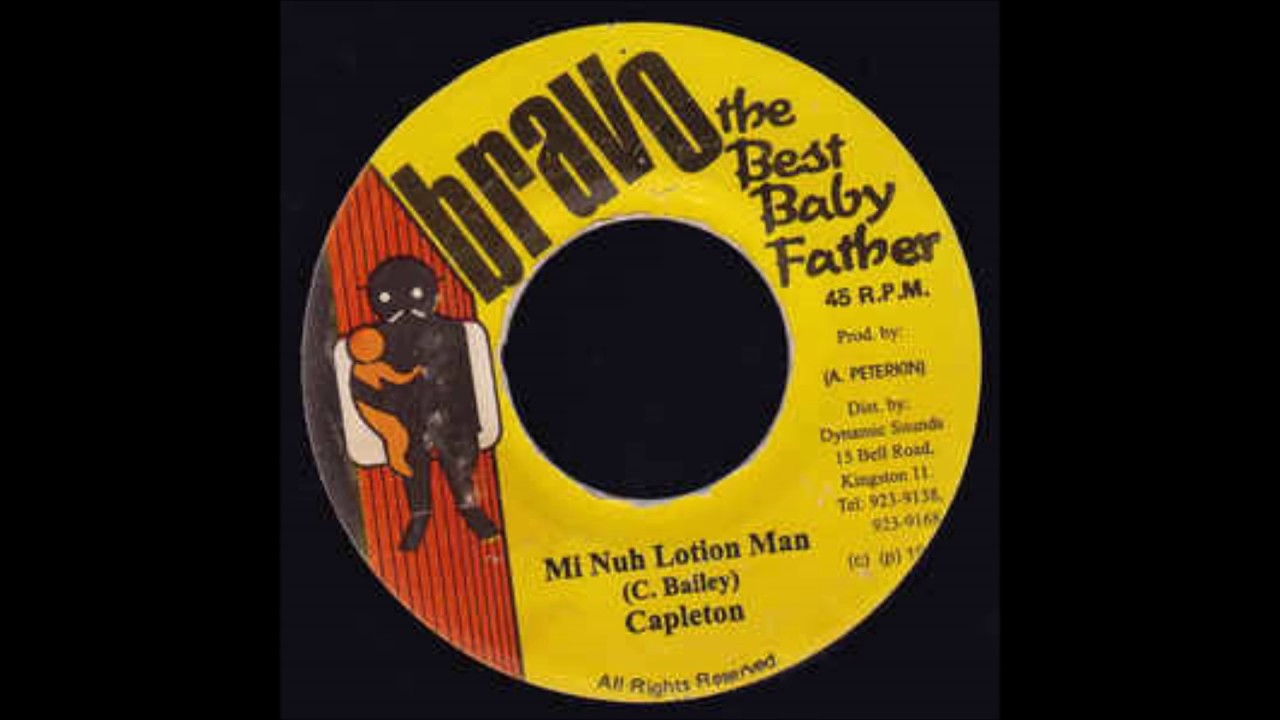 Capleton - Mi Nuh Lotion Man Riddim (Version)