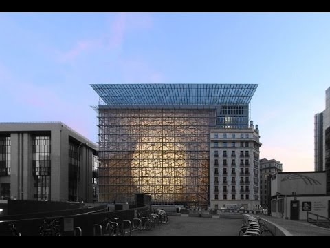 EU unveils new $346m 'Space Egg' HQ | CNBC International