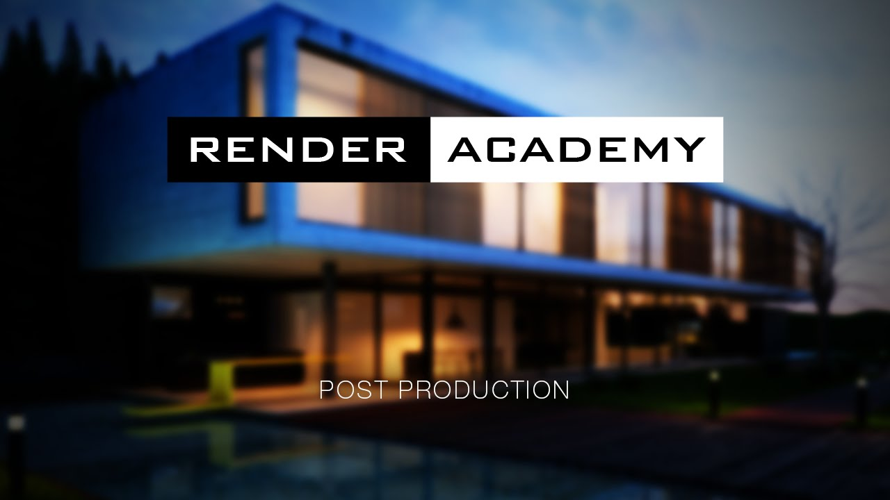 Render Academy - Render post production with Photoshop
