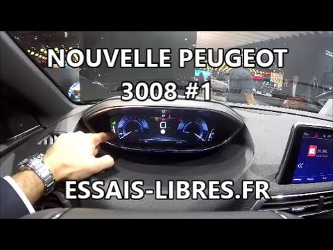 nouvelle peugeot 3008 gt 1 youtube. Black Bedroom Furniture Sets. Home Design Ideas