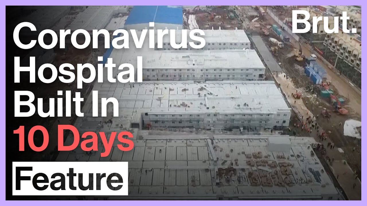 The Hospital That China Built In 10 Days