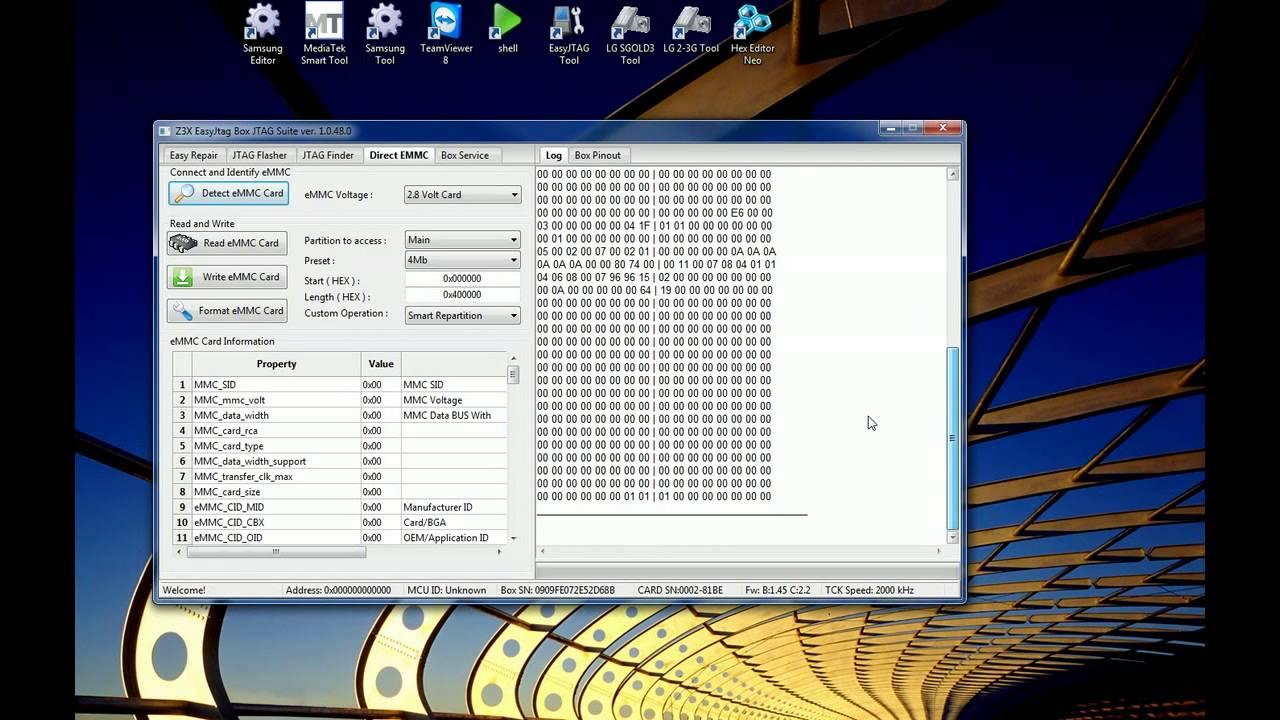 Z3X Easy-JTAG EMMC TOOL
