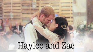 Haylee and Zac {a wedding film}