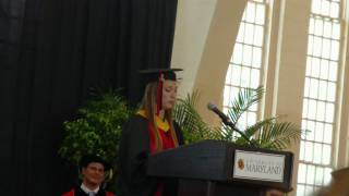 Anastasia Vvedenskaya - commencement speech part 2