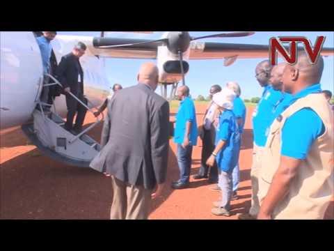 UN Bosses visit refugee projects in Westnile