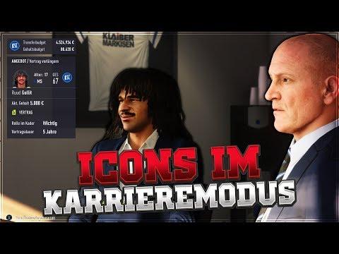 ICON Pelé, Maradona, Ronaldo, Gullit & mehr im FIFA 18 Karrieremodus #01