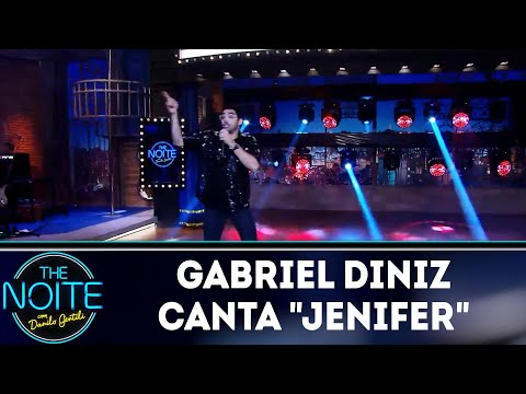"Gabriel Diniz canta ""Jenifer"" | The Noite (27/03/19)"