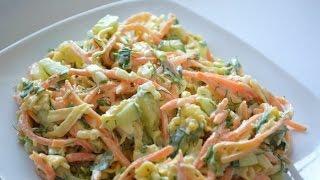 Вкусный и супер бюджетный салат ЛИСИЧКА
