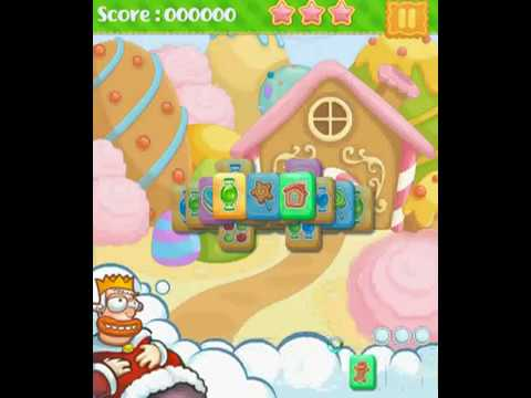 Sweet candy kingdom matching game level1 and level2 complete total score 12400