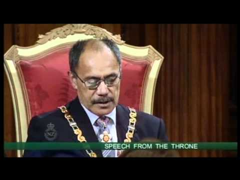 Speech from the Throne - Part 1