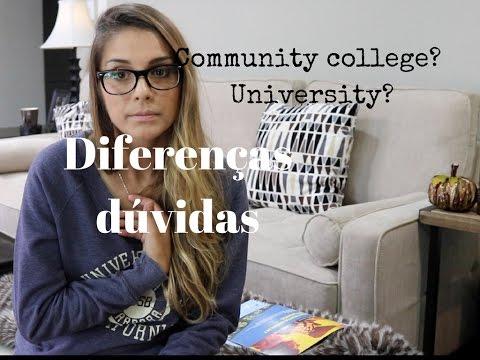 Assunto community college, college e university nos EUA