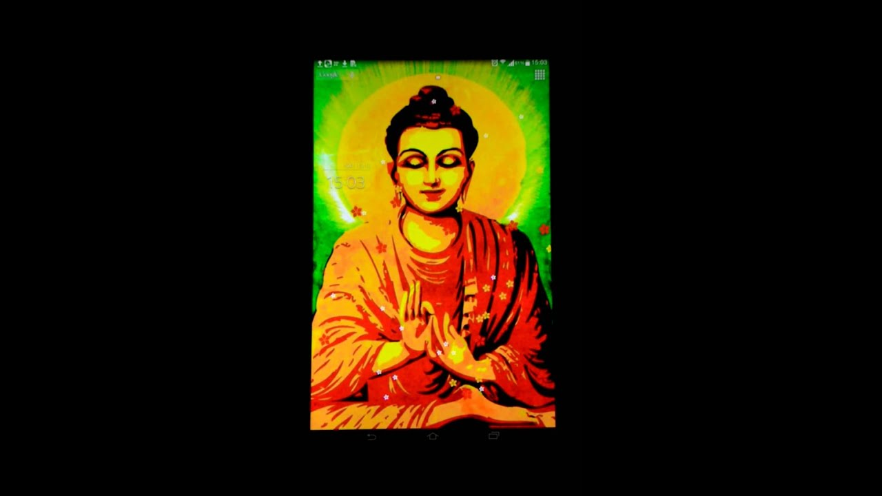Buddha live wallpaper - YouTube