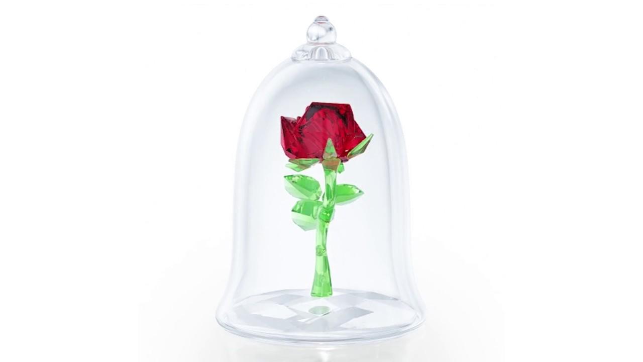 Swarovski Crystal Enchanted Rose - YouTube 563900a92f