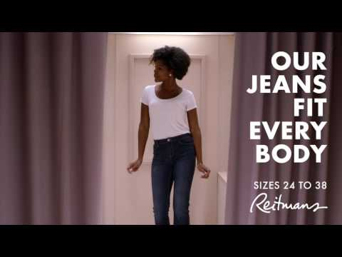 Our Jeans Fit Every Body - Reitmans Spring Denim Campaign