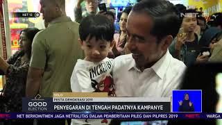 Jokowi Ajak Jan Ethes Main di Mal NET12