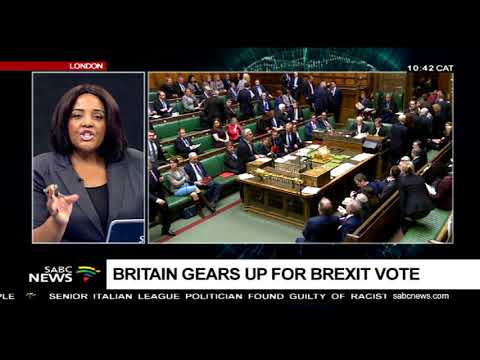 Britain gears up for Brexit vote
