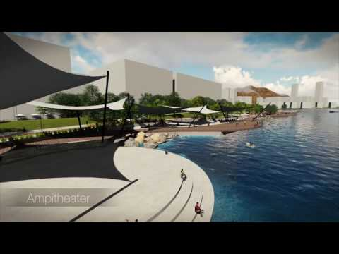Yau Tong Bay Waterfront Revitalization - Final Year Landscape Architecture Thesis Project