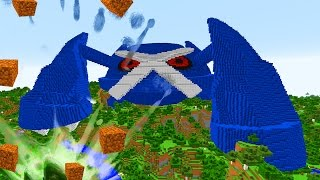 MINECRAFT vs POKEMON GO : GIGA METAGROSS VS REZENDE !!!