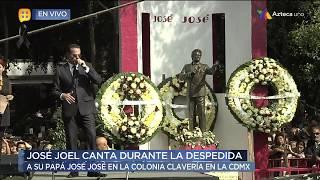José Joel despide a su padre con una hermosa canción
