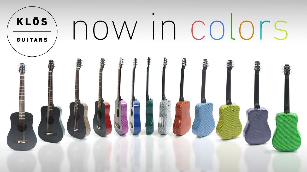 3c74ecb7108 Colored Carbon Fiber Guitars - KLŌS Guitars | Indiegogo