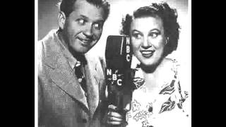Fibber McGee & Molly radio show 6/23/53 Ground Observer Corps