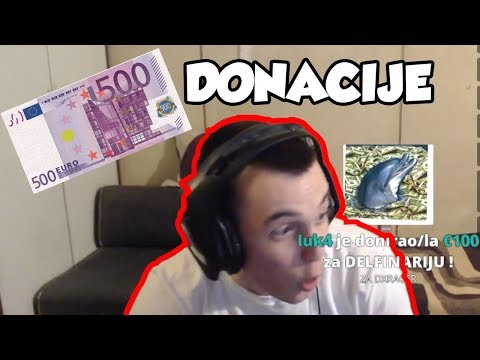 STREAM HIGHLIGHTS - Donacija 500 € *reakcija*