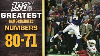 100 Greatest Game Changers: Numbers 80-71 | NFL 100
