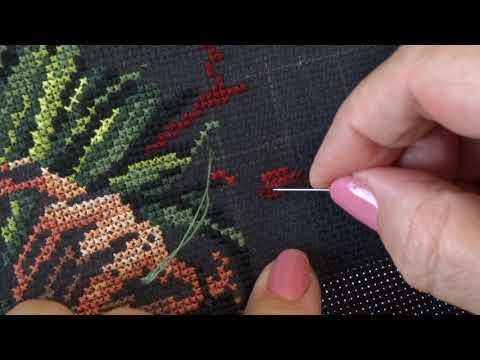 Вышивка на черной канве вышивка крестом схемы бесплатно