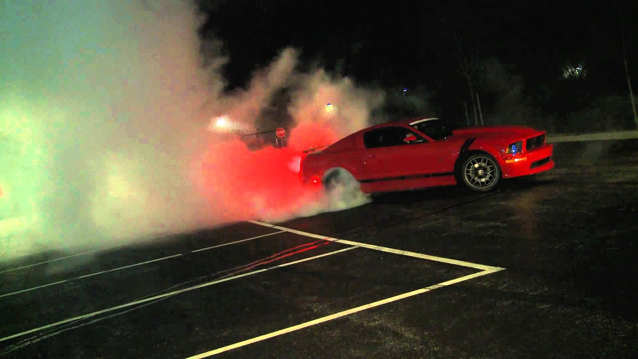 Sick 2007 Mustang Gt Burnout Photoshoot For Americanmuscle