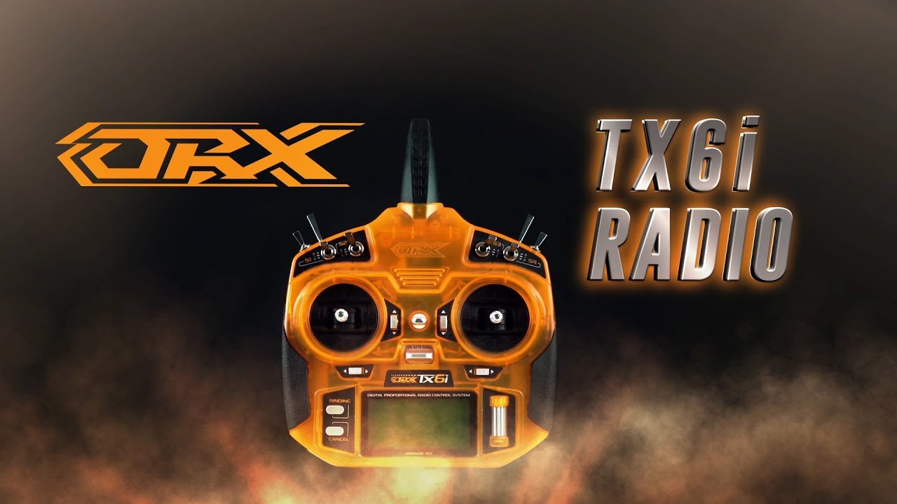 OrangeRx Tx6i Full Range 2 4GHz DSM2/DSMX compatible 6ch Radio System (Mode  2) International Version