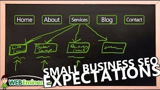 Small Business Website - SEO Keyword Ranking Expectations(Many small businesses want to get listed on page 1 of Google, but often have unrealistic expectations of what type of search engine rankings they can achieve ..., 2015-08-19T03:12:03.000Z)