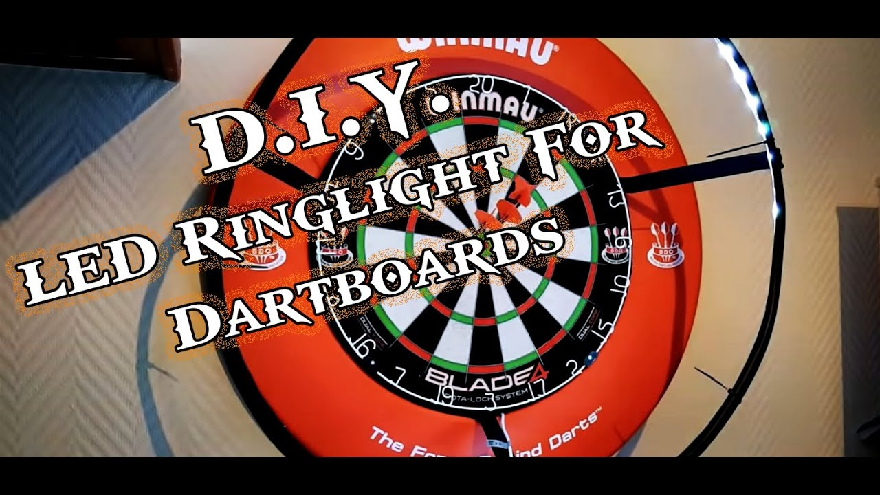 Diy Dartboard Ringlight Youtube