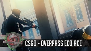 CSGO STREAM HIGHLIGHT Overpass Eco ACE