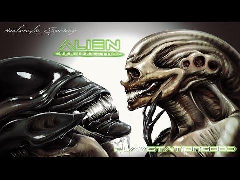 #18 обзор игры Alien Resurrection