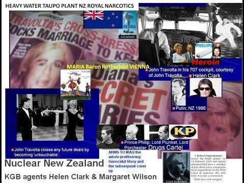Travolta TITS out Lady Di, Maria, theft NZ by Putin Clark & Fonz, Engelbert shot dead